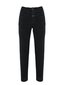 PEDAL PUSHER PANTALONE SLIM NERO