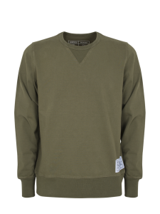 DARFOUR CREWNECK SWEATSHIRT ARMY GREEN