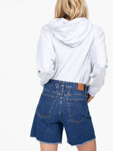 PANTALONCINI DENIM REGULAR BLUE