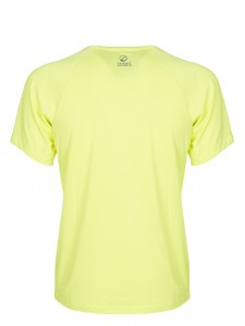 AMBITION T-SHIRT GIALLO FLUO