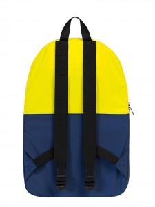 DAYPACK ZAINO CATARIFRANGENTE RICHIUDIBILE GIALLO BLUE