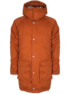 PARKA UOMO HOLUBAR DEER HUNTER LONG ARANCIO