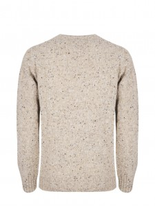 WOOL KNIT TERRY BEIGE