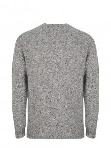 WOOL KNIT TERRY GREY