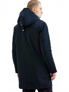 GEORGE PARKA BLUE
