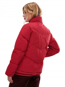 elvine parka lisen red