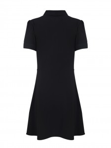 SCHOLL DRESS DARKEST BLACK