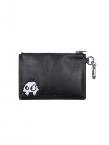 MCQ POUCH SWALLOW BLACK