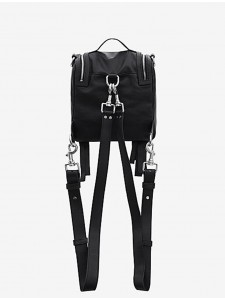 MCQ ZAINO LOVELESS MINICONVERTIBLE BLACK