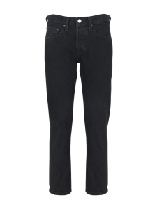 501 Cropped Taper Black Shadow Jeans