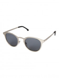 KOMONO HOLLIS SILVER BOUTIQUE SUNGLASSES SILVER