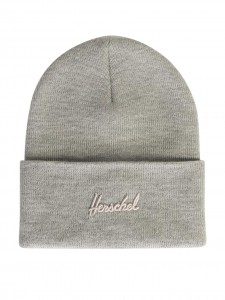 ADEN BEANIE HEATHER LIGHT GREY