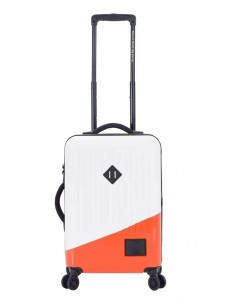 TRADE LUGGAGE SMALL CARRY-ON POWER ORANGE WHITE
