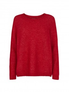 JUST FEMALE CHIBA KNIT SCARLET SAGA