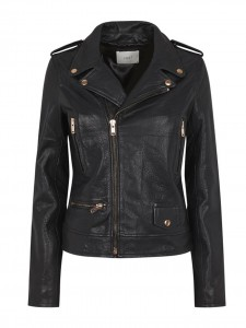 HOTEL LEATHER JACKET BLACK