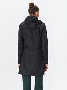 Rains 1246 w coat black