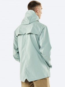 Rains 1201 jacket dusty mint
