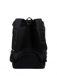 LITTLE AMERICA MID VOLUME BACKPACK BLACK BLACK