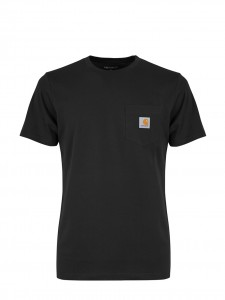 CARHARTT S/S POCKET T-SHIRT BASIC BLACK