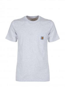 CARHARTT S/S POCKET T-SHIRT BASIC ASH HEATHER