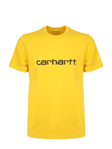 CARHARTT S/S SCRIPT T-SHIRT BASIC PEPPER BLACK