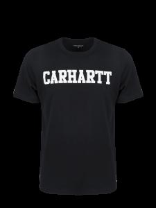 CARHARTT S/S SCRIPT T-SHIRT BASIC BLACK WHITE