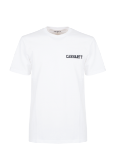 CARHARTT S/S COLLEGE T-SHIRT BASIC WHITE BLACK
