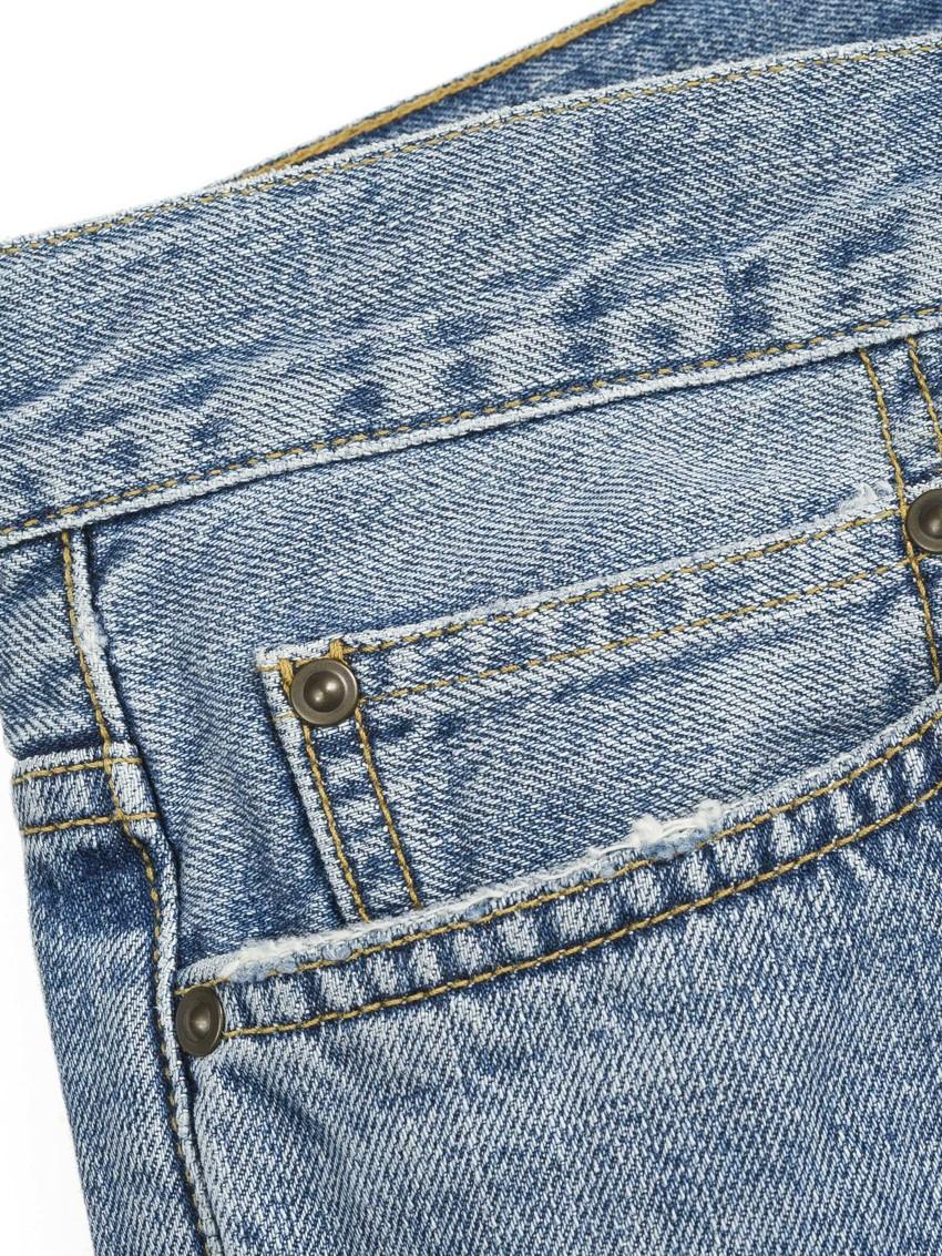 CH KLONDIKE PANT 100% COTTON EDGEWOOD BLUE BLUE TRUE BLEACHED