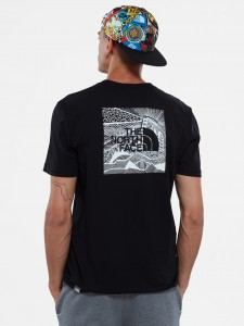 THE NORTH FACE RED BOX CEL TEE BLACK