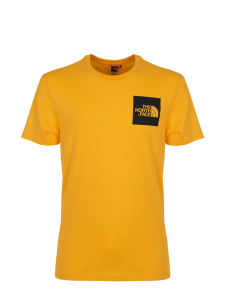 THE NORTH FACE FINE TEE ZINNIA ORANGE