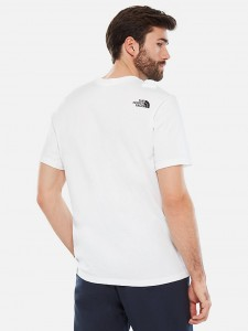 THE NORTH FACE FLASH TEE WHITE BLACK