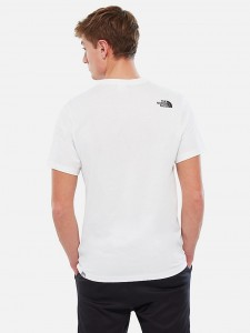 THE NORTH FACE NSE TEE WHITE BLACK