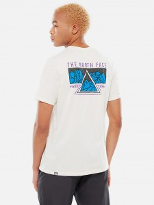 THE NORTH FACE RIDGE TEE VINTAGE WHITE