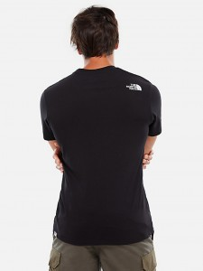 THE NORTH FACE MOUNT LINE TEE BLACK