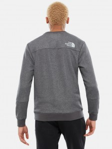 M LHT CREW MEDIUM GREY