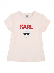 T-shirt pink Choupette