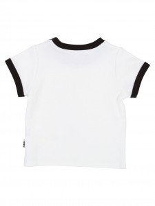 """T-Shirt white """"bad cat"""""""