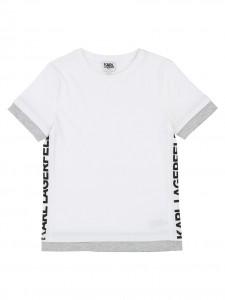 T-shirt white banda logo