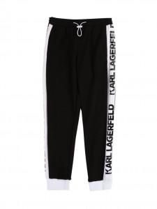 Pantalone black banda logo