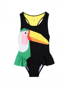 Costume black toucan