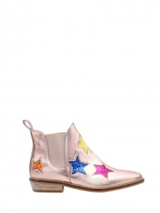 Stivaletto pearl pink