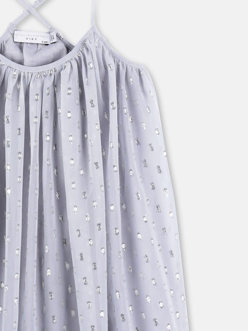 Vestito lurex storm grey