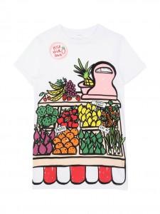 Vestito fruits paint