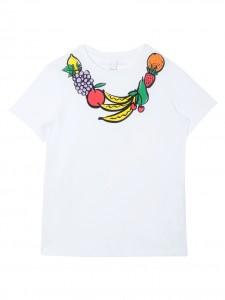 T-shirt fruit necklace