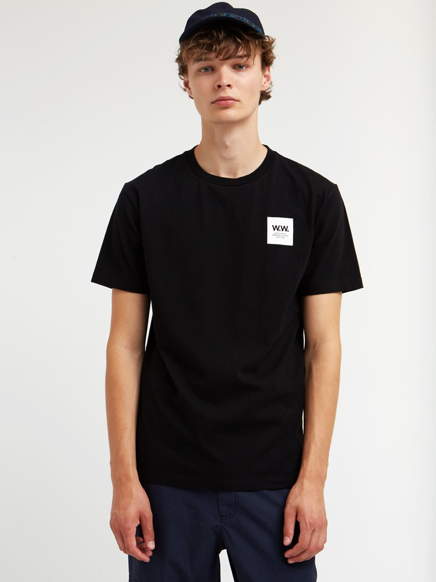 WW BOX T-SHIRT BLACK