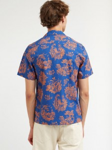 BRANDON SHIRT TOURIST BLUE