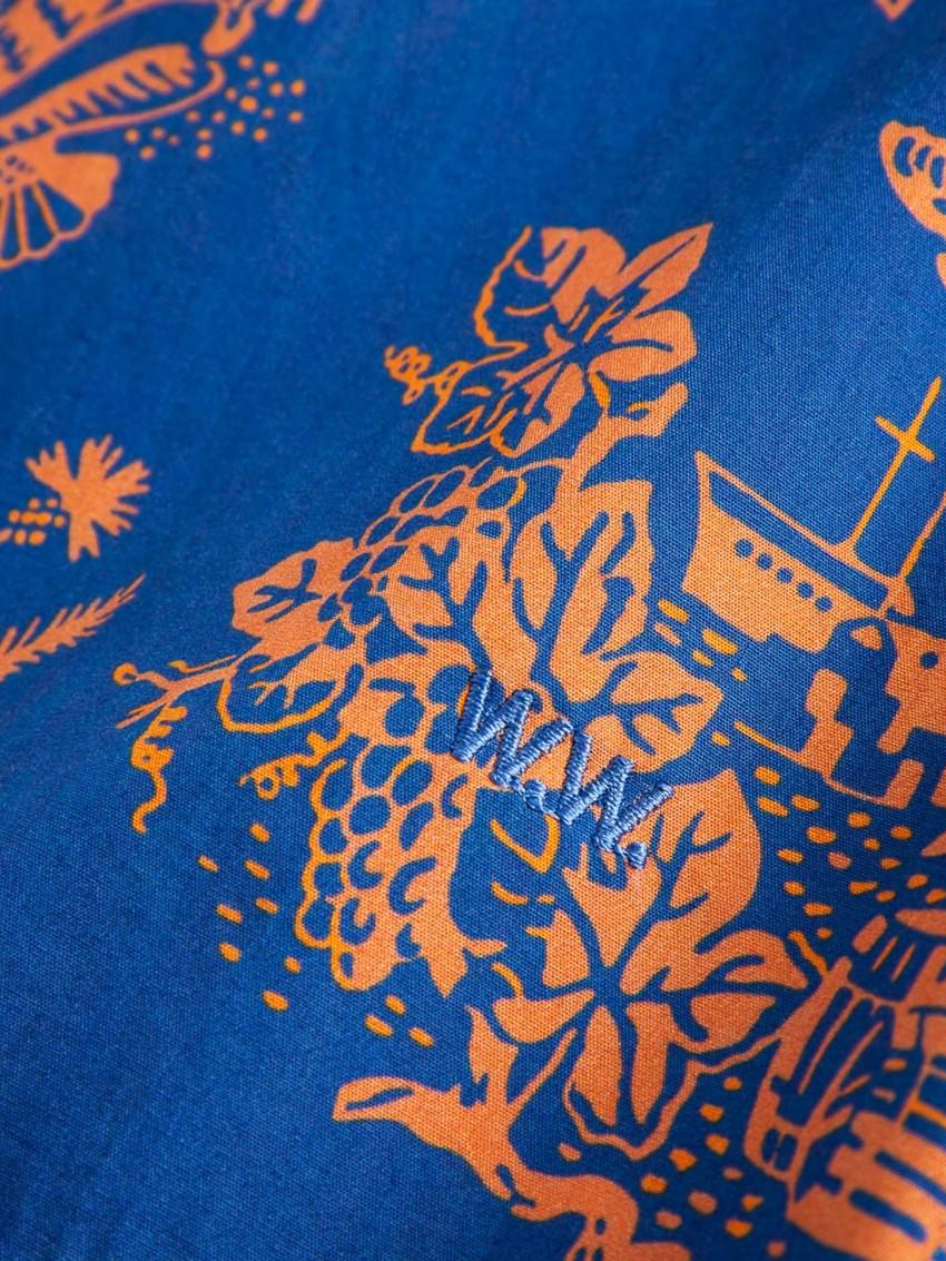 BRANDON SHIRT TOURIST BLUE