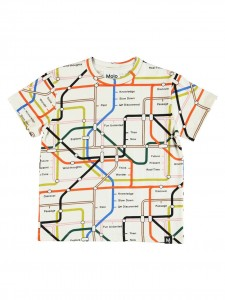 Roxo T-shirt Subway Map