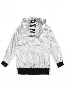 K-Way silver metal