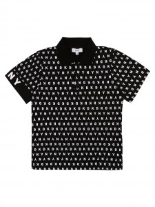 Polo black letter white